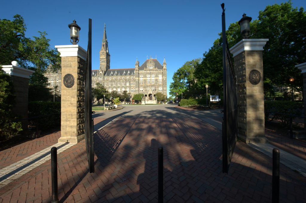 Georgetown university school of foreign service essay