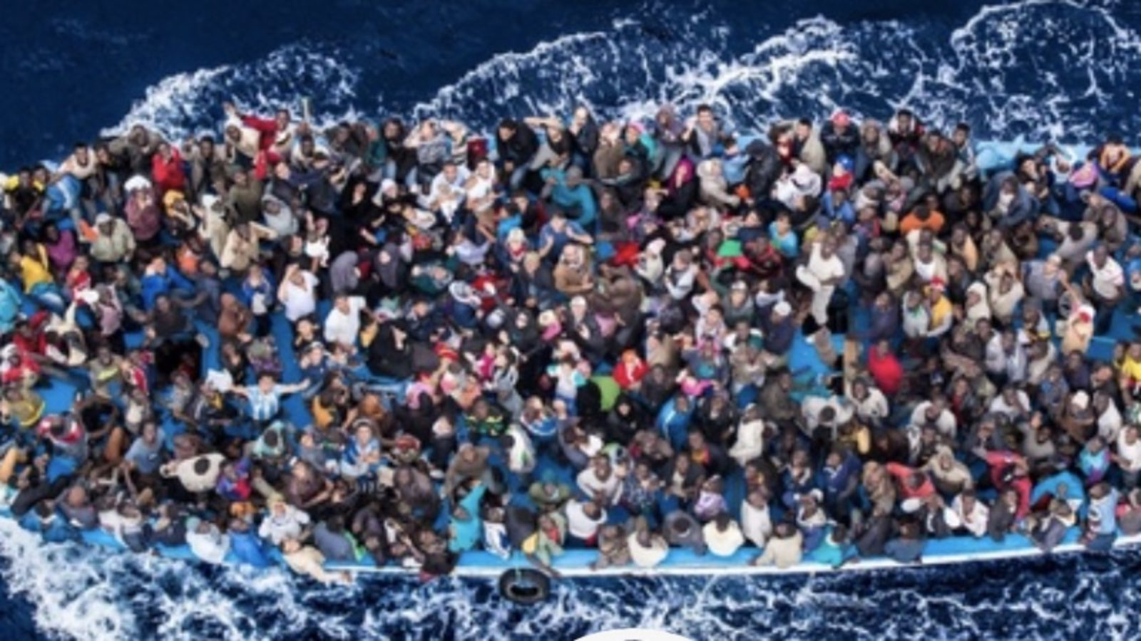 refugees on boat